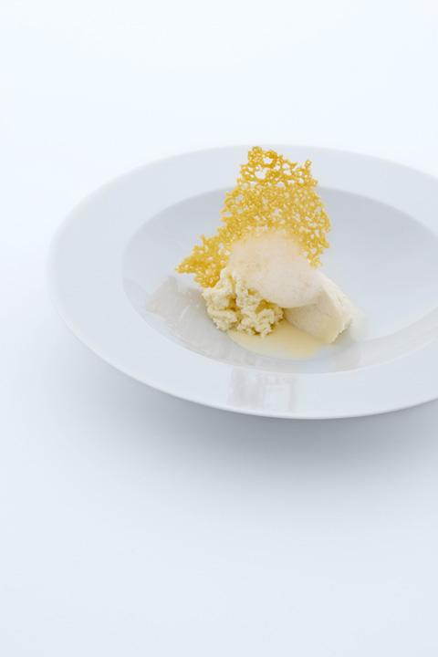 Cinque stagionature di Parmigiano Reggiano in consistenze e temperature