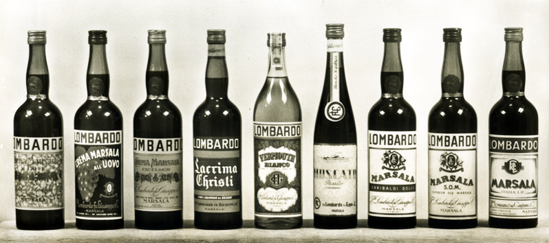 Cantine Lombardo bottiglie
