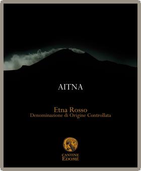 Aitna - Etna Rosso DOC Etichetta
