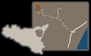 cartina Cantine Edomè